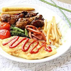 how to make korean omurice