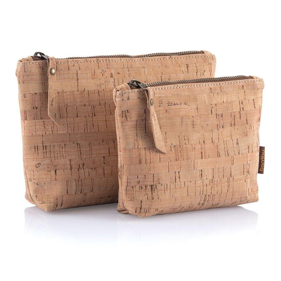 c614b1c09e58 Cork Fabric Travel Zip Pouches Handmade Wallets, Handmade Handbags, Cork  Purse, Diy Purse