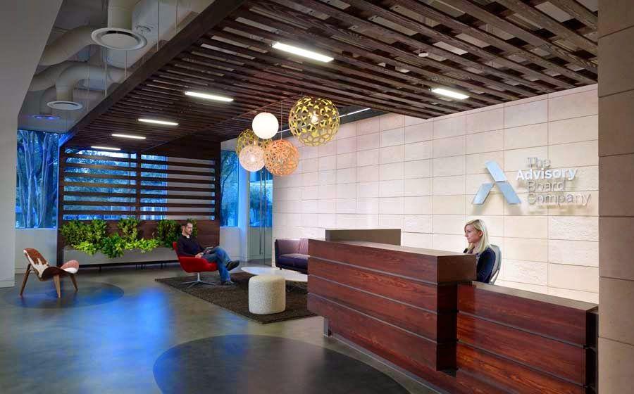 Ideas To Decorate A Company Reception Area Google Search