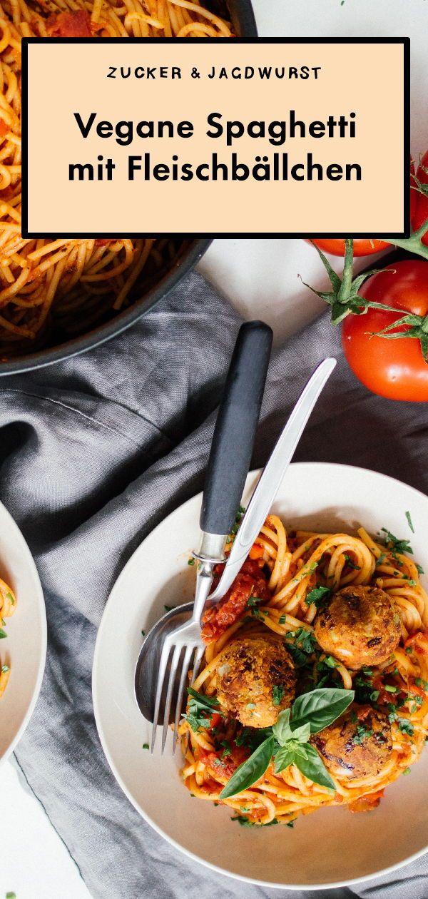 Vegane Spaghetti Polpette