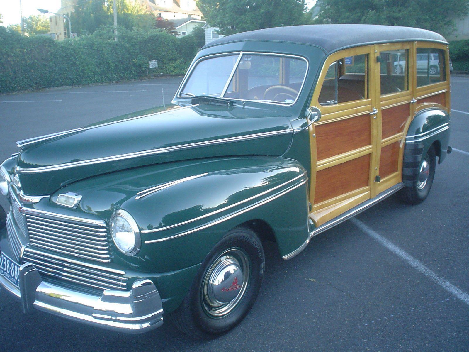 '42 Mercury Woody Wagon 29A West coast cars, Woody wagon