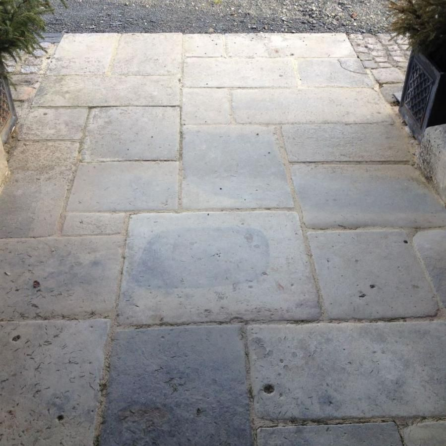 Rare centuries old reclaimed antique french limestone floor with rare centuries old reclaimed antique french limestone floor with provenance from near caen in normandy dailygadgetfo Choice Image