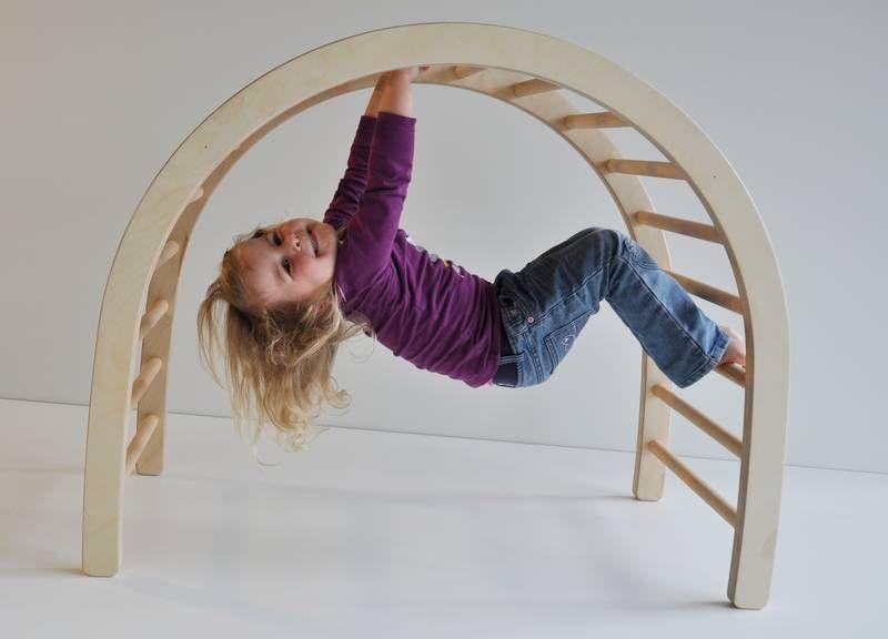 Kletterbogen Pikler : Spielmöbel für kleine und große kinder kletterbogen wip