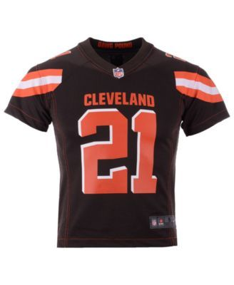 watch 70b0d e4fa2 Nike Denzel Ward Cleveland Browns Game Jersey, Big Boys (8 ...