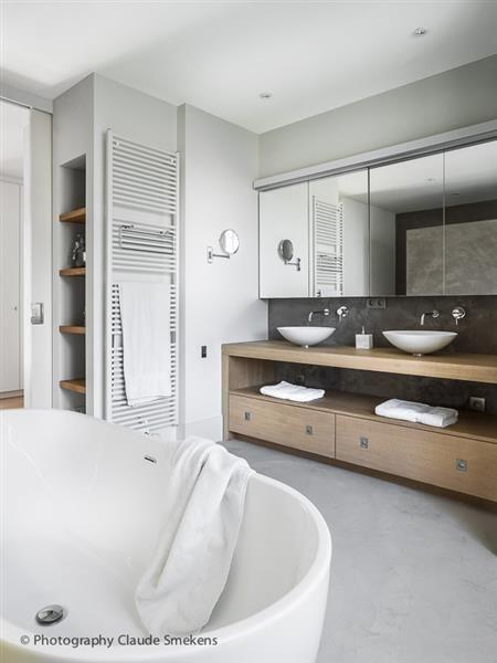 Strak landelijke badkamers | badkamer | Pinterest - Bathroom, Home ...