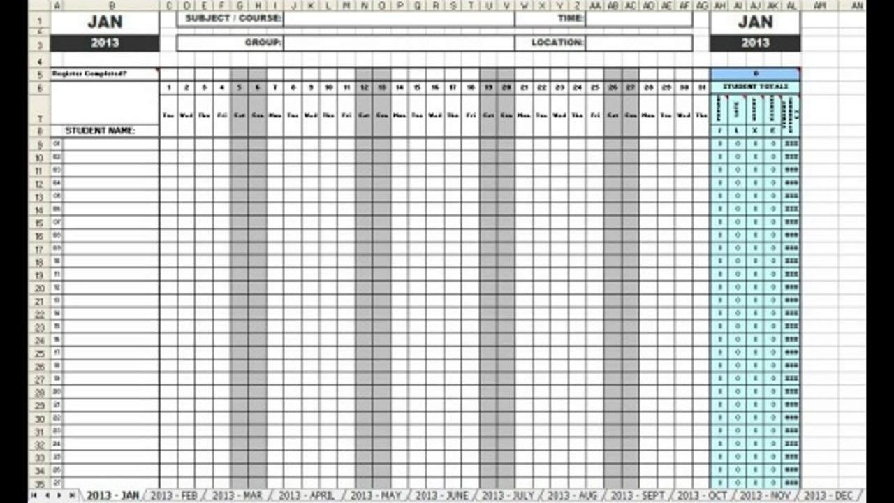 Employee Meeting Attendance Sheet Template  Templates