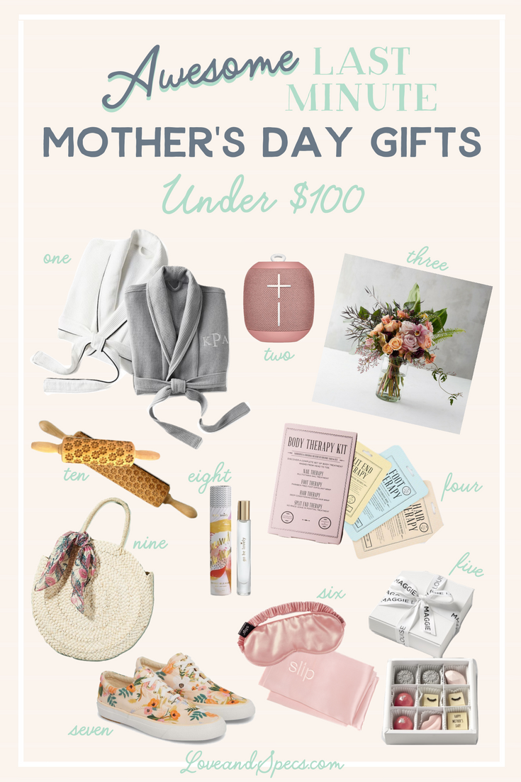 10 Last Minute Mother S Day Gift Ideas Under 100 Graduation