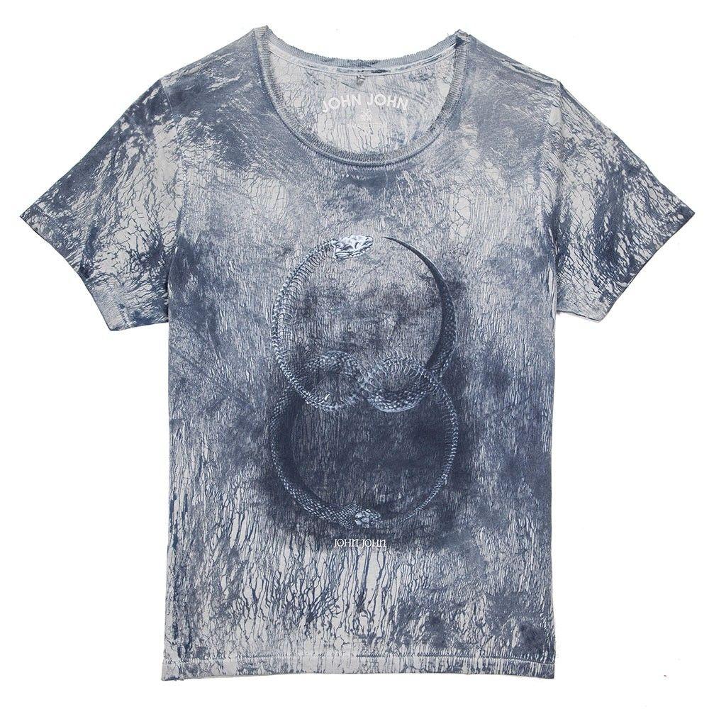 T SHIRT INFINITE SNAKE JOHN JOHN DENIM | SHOP ONLINE | Buy new collection  by the