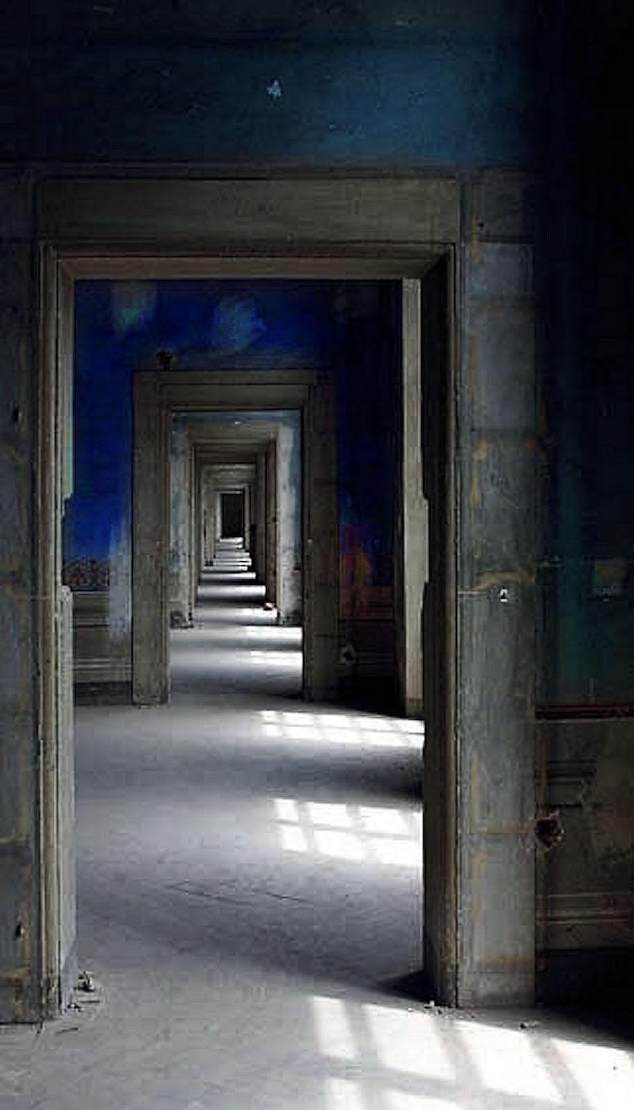 Color Focus Blue Doorway Architecture Architecture Details