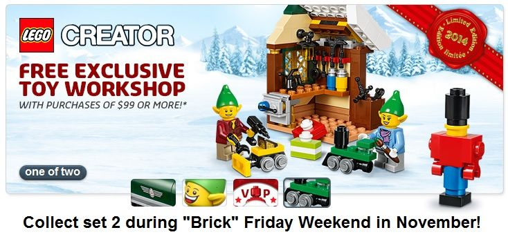 Free Gift with $99+ Lego Purchases while supplies last | Child's ...