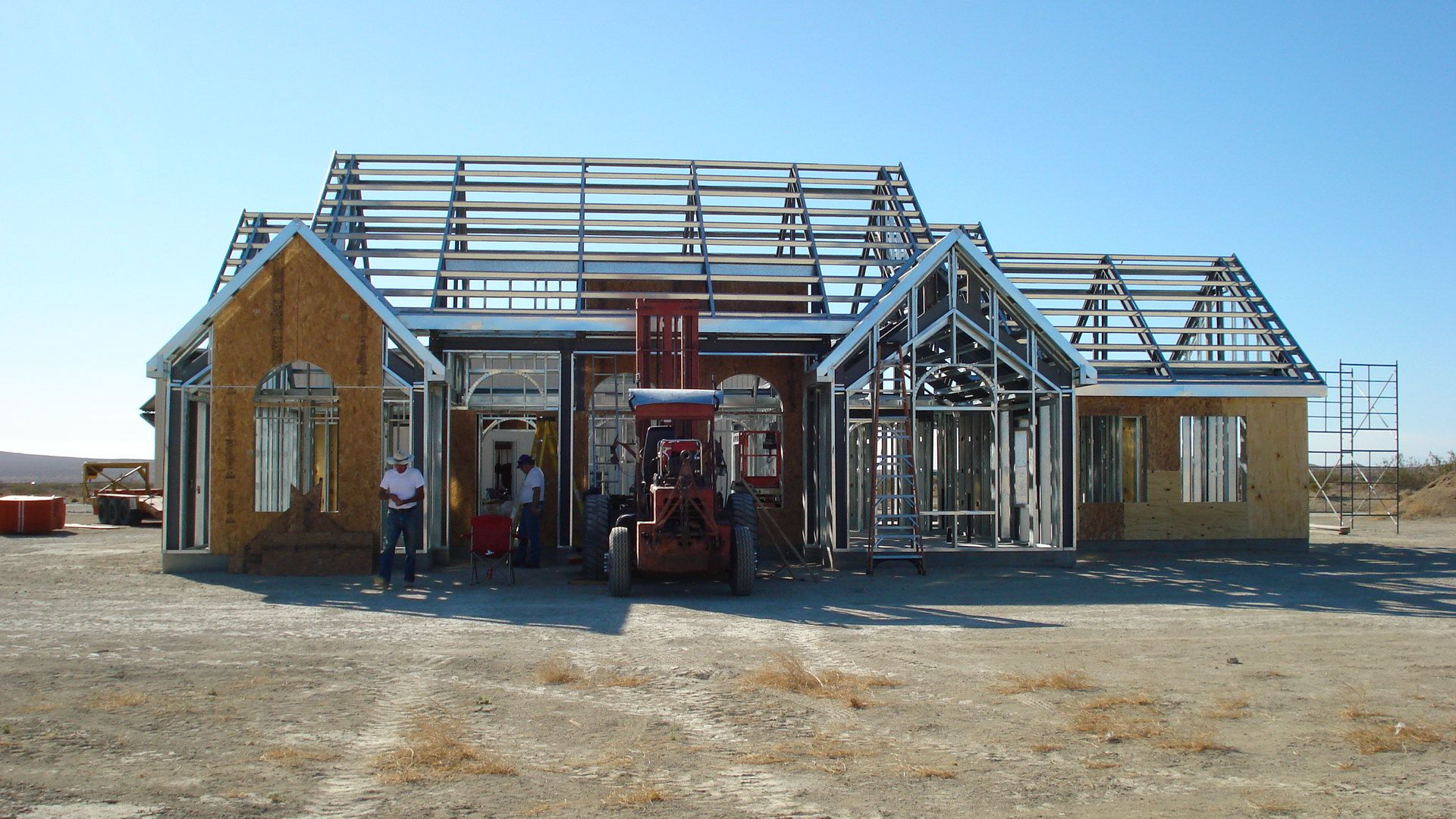 Steel Frame House Construction : Light steel framing google search frame