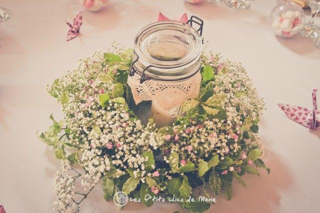 Mon mariage boh me et liberty la d co de la salle mariage champetre deco - Deco table mariage champetre chic ...