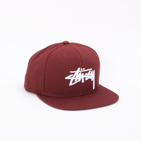cc54ddc07 Stussy Stock Snapback Cap - Classic Stock snapback ballcap from the ...