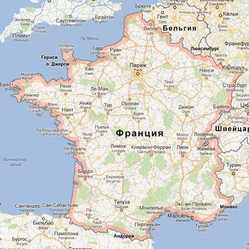 Tury Vo Francii Franciya Gorod