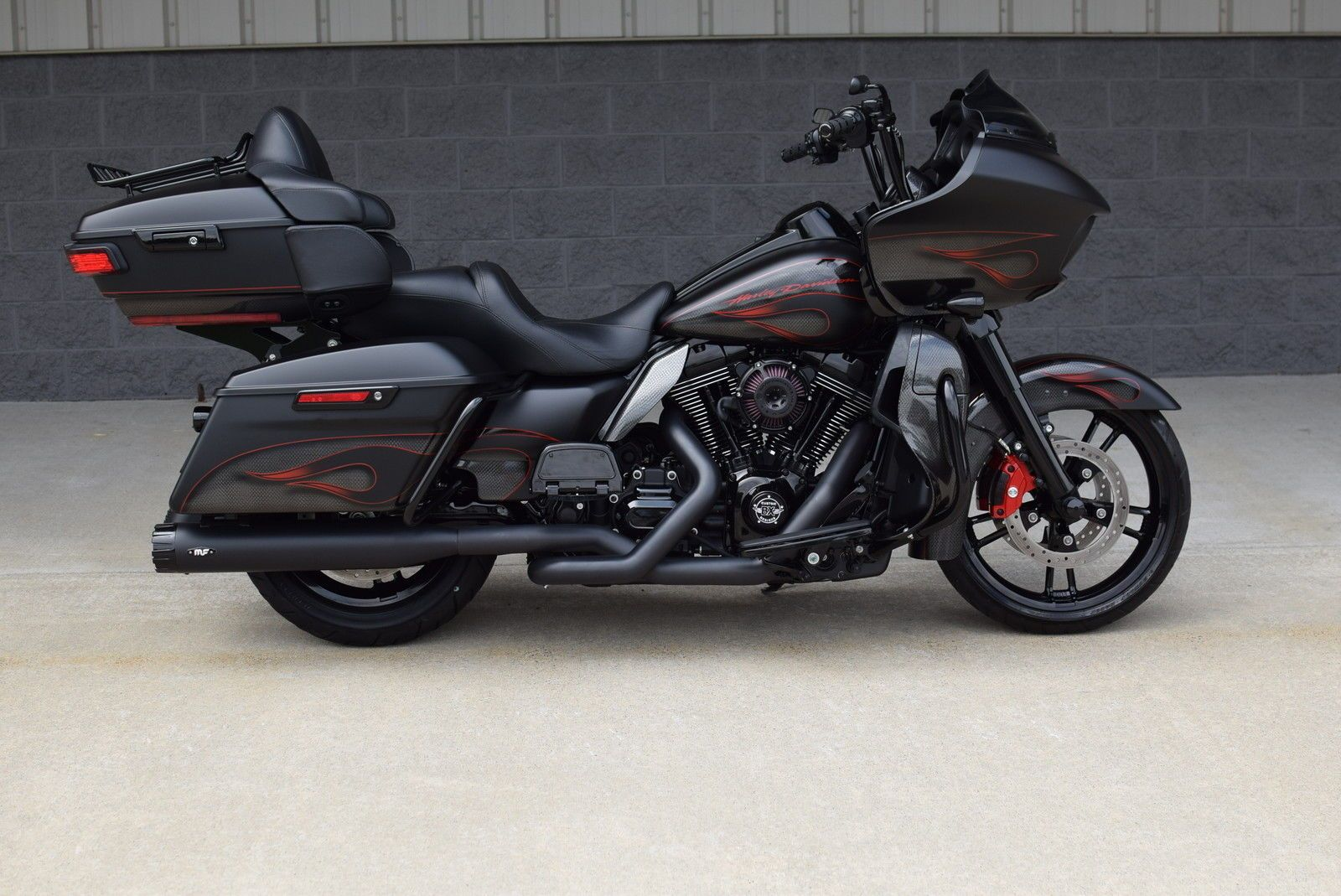 2016 harley davidson road glide ultra custom 1 of a kind 17k in