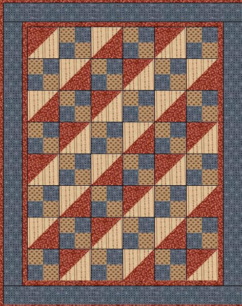 Cute Americana Quilt Free Pattern This Would Make A Great Of Valor