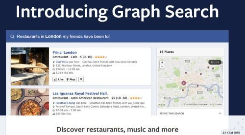 Facebook graph search explained in 15 seconds