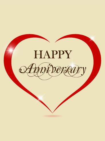 Elegant Anniversary Card Birthday Greeting Cards By Davia Happy Anniversary Cards Happy Anniversary Wishes Happy 3rd Anniversary