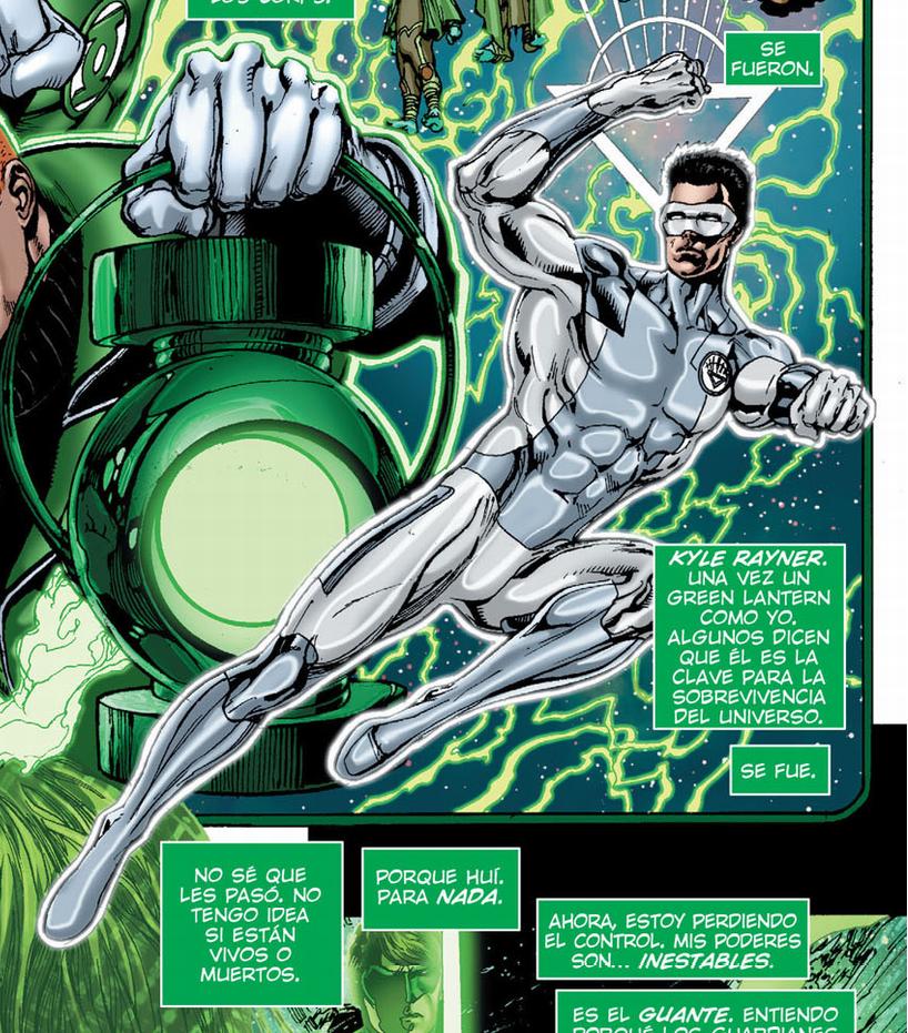 Kyle Ryner Linterna Blanco -  DC Cómics Rebirth