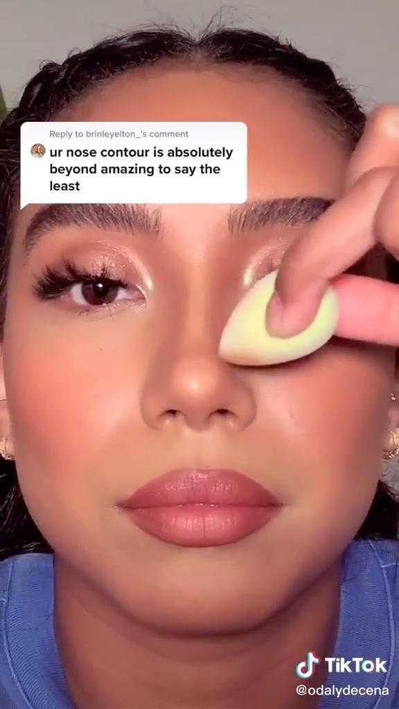 Pin By Nohenys Campos G On Makeup Video Makeup Tutorial Nose Makeup Makeup Techniques