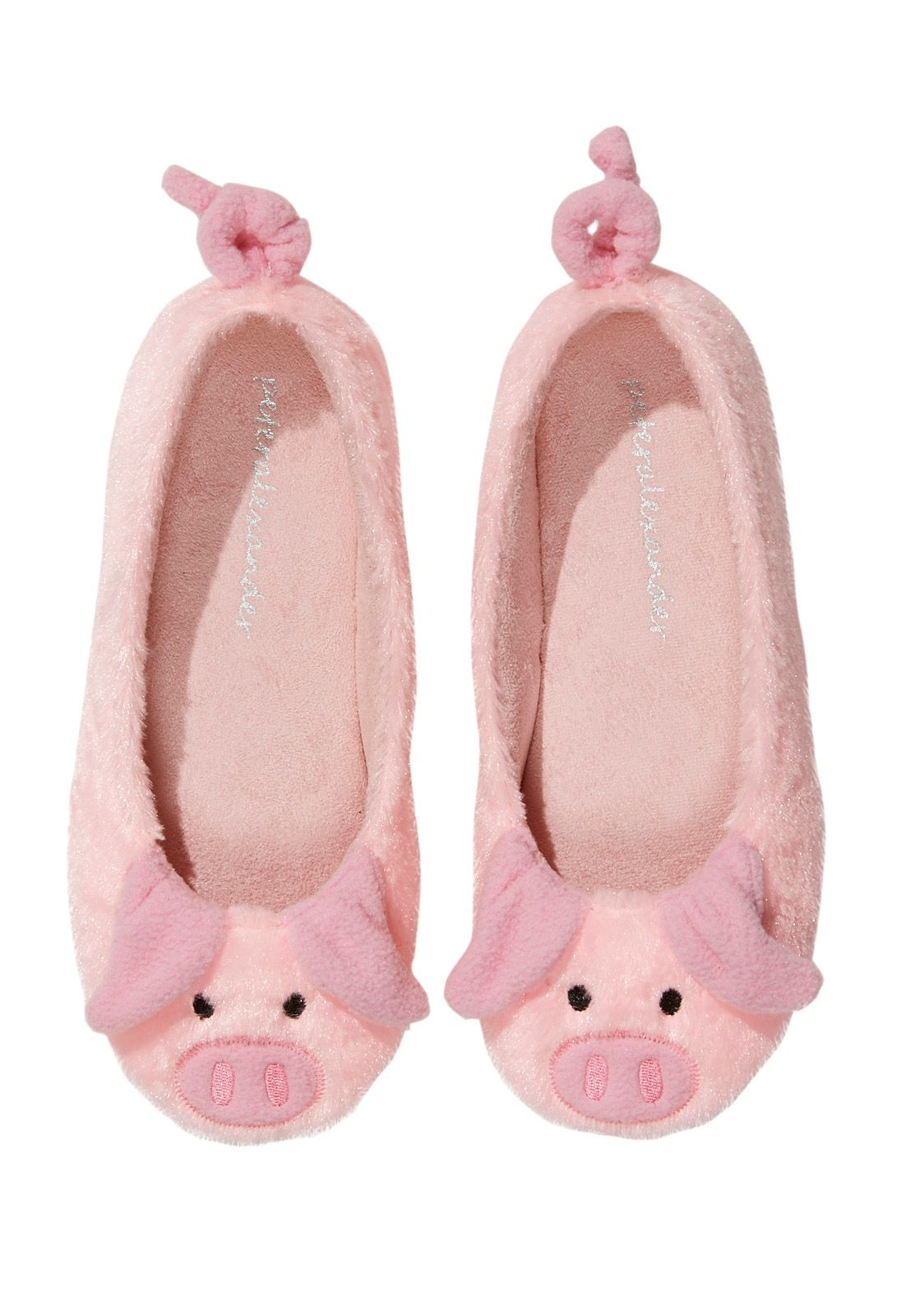 Piggy Slippers From Peter Alexander The Curly Tails Are