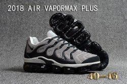 98226c24d45c2 Latest Style Nike Air Vapormax Plus KPU TN + 2018 Wolf Grey Black Men s  Running Shoes Casual Sneakers