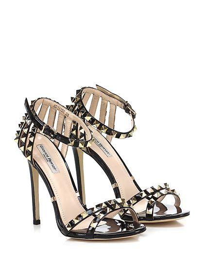 Donna Tacco Alto Sandali Con Cinturini Alla Caviglia Highheels Scarpe Sandalo