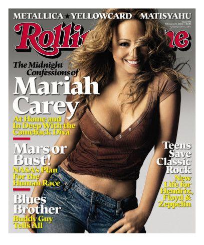 Mariah Carey Rolling Stone No 994 February 2006 Photographic