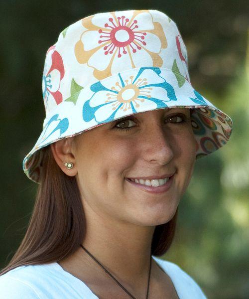 Bucket Hat | Fabric crafts - adult clothes | Pinterest | Nähen