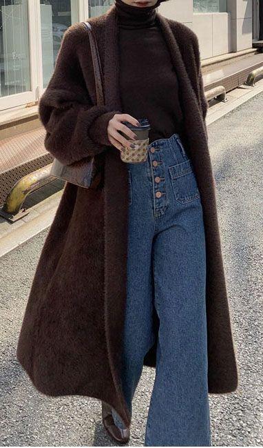 Plush Cardigan Coat