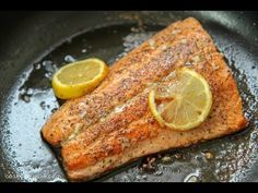 Photo of Pan Seared Salmon with Lemon Butter Sauce (video) Cooked by Julie