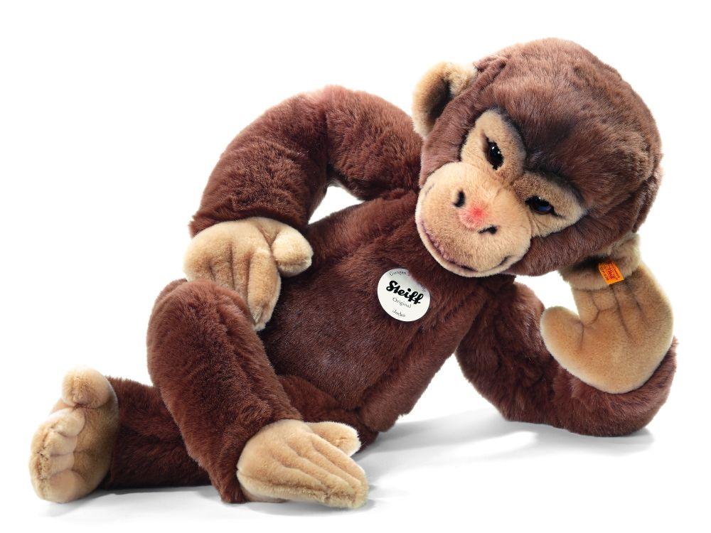 Steiff Stuffed Chimpanzee 'Jocko' - Plush Hub