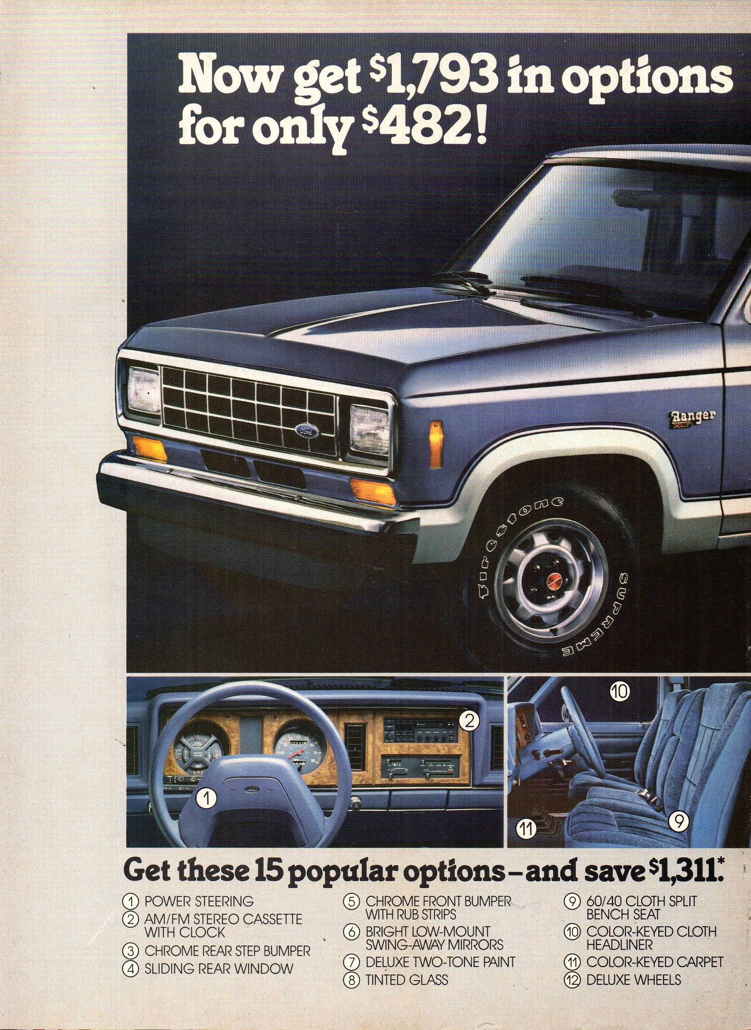 1987 Ford Ranger Pickup Truck Page 1 Usa Original Magazine