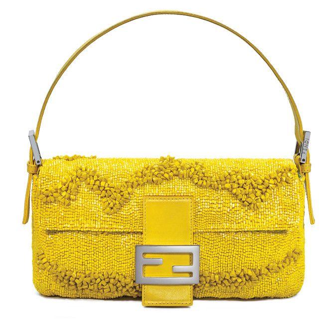 Fendi Gialla baguette bag  21318c94072c8