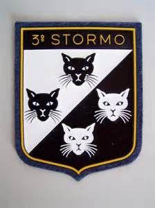 """#festadeigatti  il 3° Stormo dell'Aeronautica Militare, utilizza come stemma un simbolo araldico a tema ;-) Il simbolo araldico dei """"4 Gatti"""" risale alla fine del 1940. A tale stemma e a una battuta del Tenente Colonnello Moci (""""sempre i soliti quattro gatti"""") fecero riferimento gli stemmi dei ricostituiti 28° e 132° Gruppo, giudicati irriguardosi e polemici furono quindi sostituti: quattro musi di gatto, due bianchi in campo nero e due neri in campo bianco. http://www.aeronautica.difesa.it"""