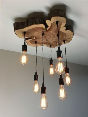 Photo of Custom Made Custom Lighting kroonluchter, hanger. Rustiek, industrieel, boerderij …