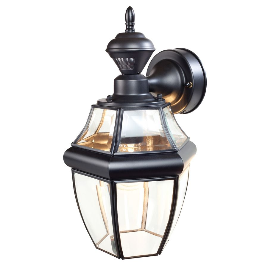 Shop Secure Home Basic 14 1 2 In H Black Motion Activated