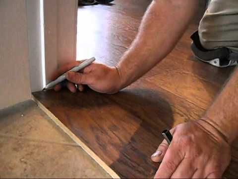 Video How To Install Laminate Flooring Without Removing Baseboards