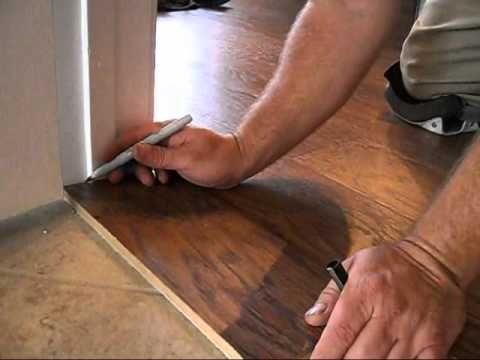 Laminate Flooring 101: Door Jambs