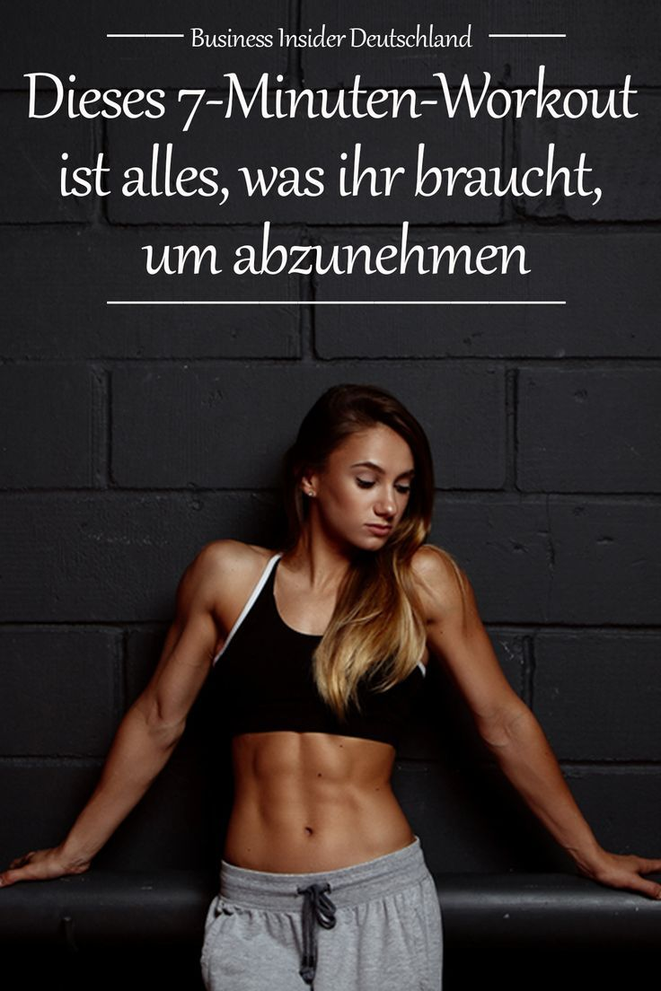 #abnehmen  #fitness Foto:soul_studio/Shutterstock #Minuten #Training  Mit nur wenigen Minuten Train...