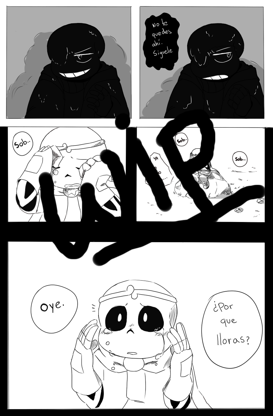 well my hand is better, 3 page come on! | dream | Undertale comic