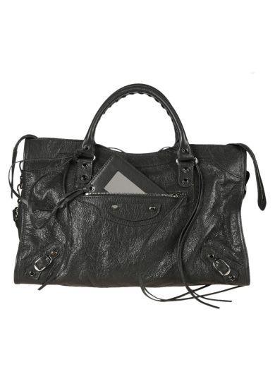 BALENCIAGA Balenciaga Classic City Antracite Bag. #balenciaga #bags #leather #
