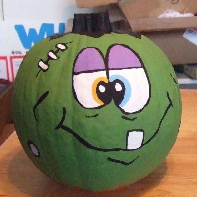 Calabaza halloween pinterest pumpkin decorating halloween y halloween pumpkins - Calabazas de halloween pintadas ...
