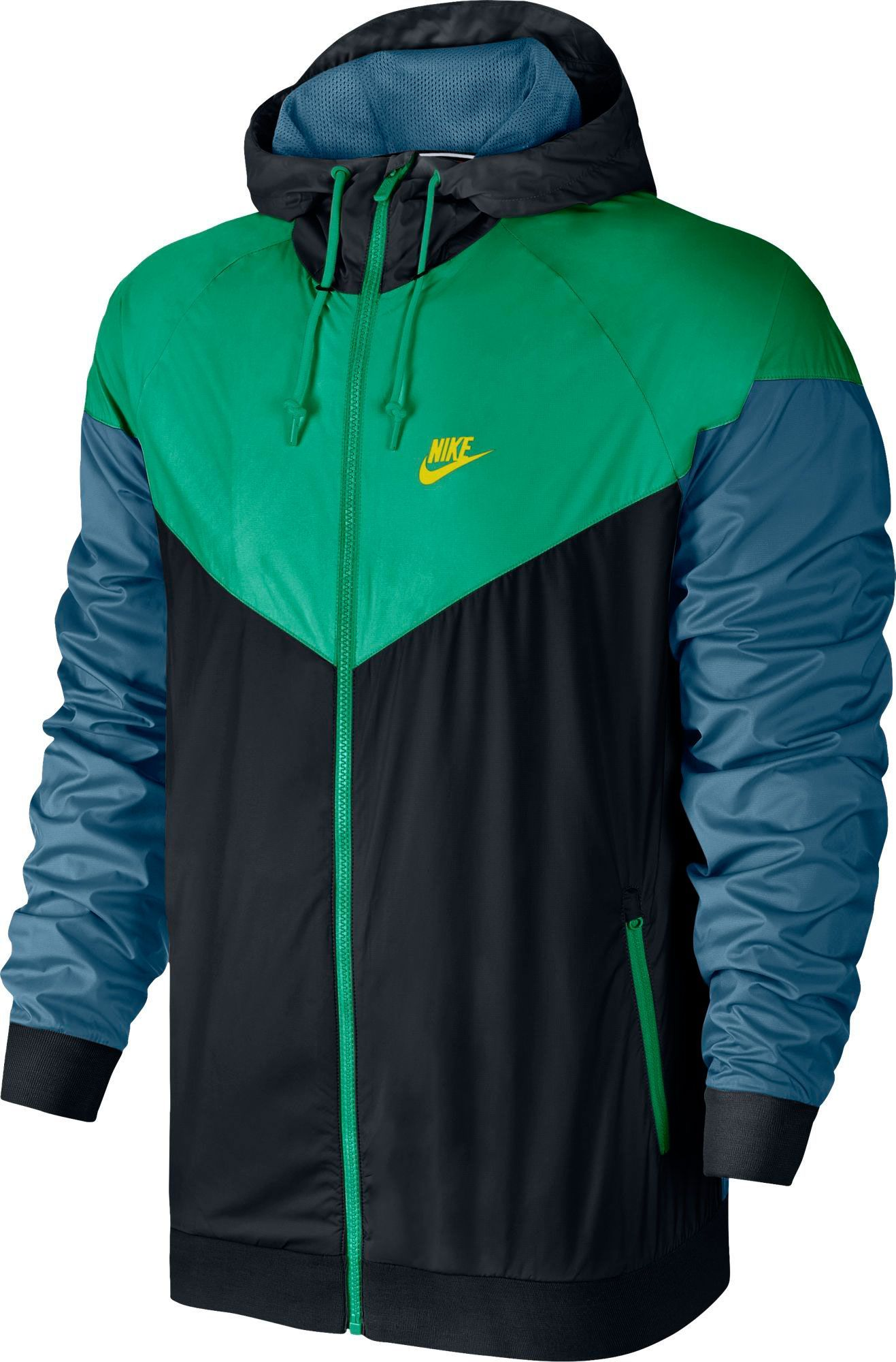 official photos 954e8 4e241 Nike Men s Windrunner Full Zip Jacket, Size  Large, Black