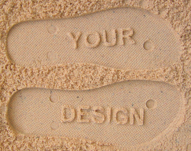 04015331e9805b Follow Me BRING WINE Flip Flops - Personalized Custom Sandals  check ...