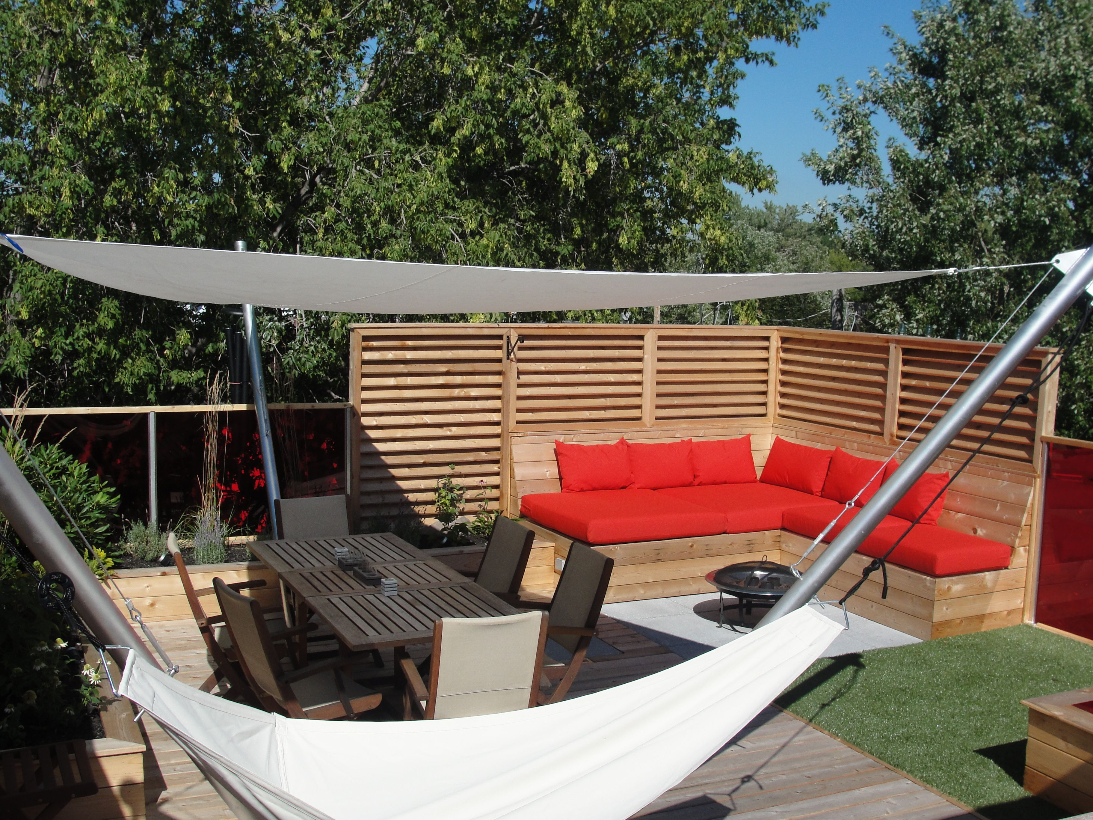 100 Incroyable Concepts Toit En Toile Pour Terrasse