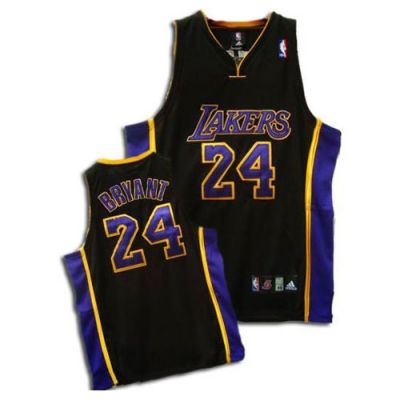 Adidas NBA Los Angeles Lakers #24 Kobe Bryant Violet S