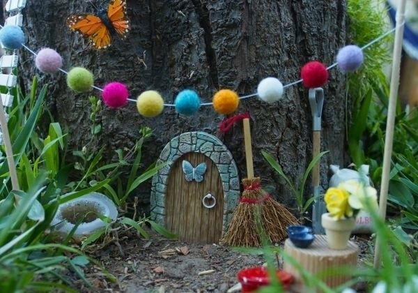 DIY Fairy House Garden Tree Garden Decoration Ideas