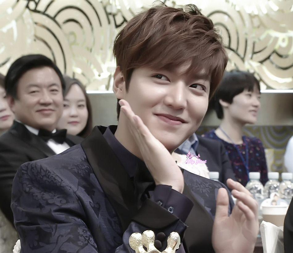 CONGRATS: Lee Min Ho and Park Shin Hye win SBS Best Couple Award
