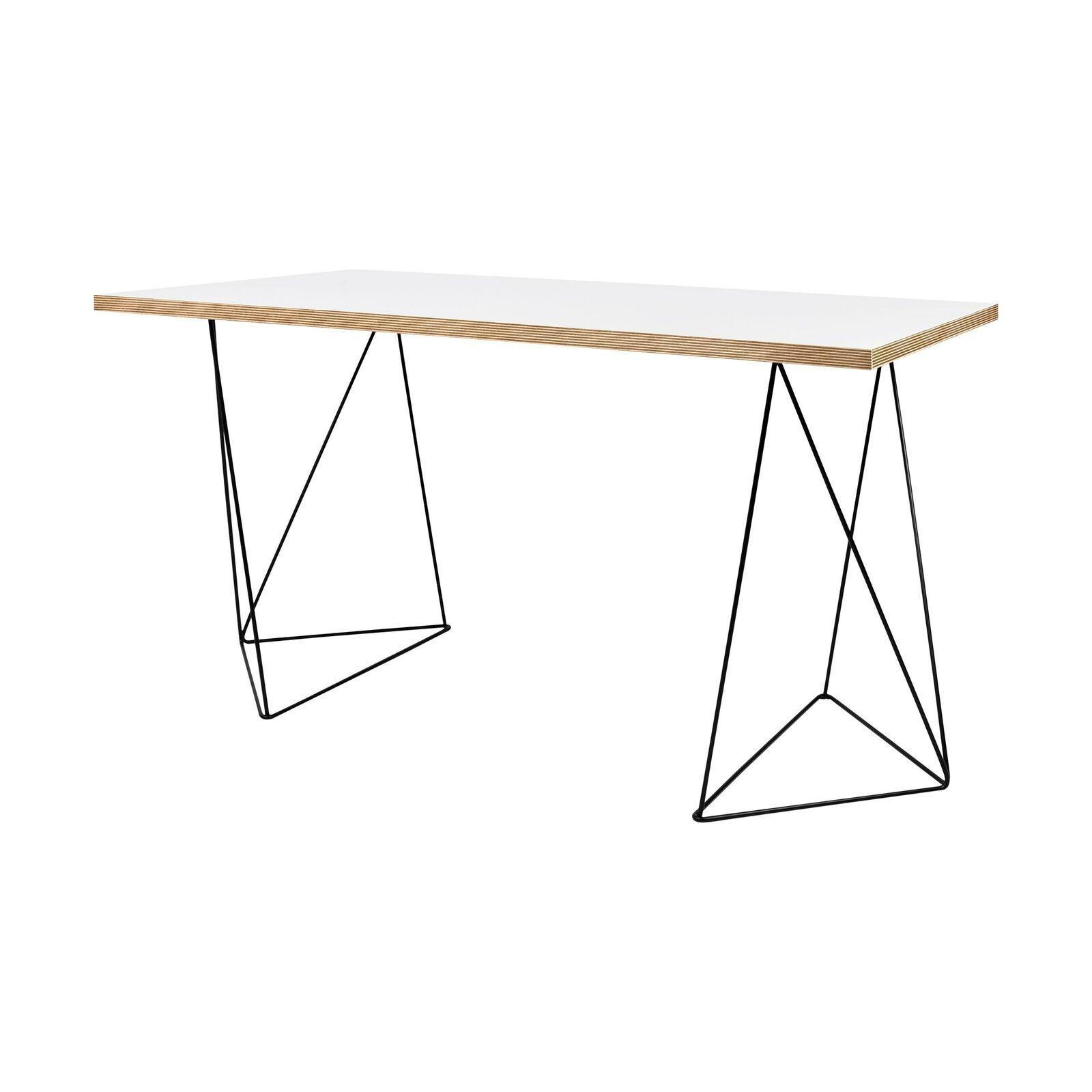 Wigan Schreibtisch Weiss Schwarz 140 X 75 Cm H 75 Cm Buromobel Ideen Von Buromobel Buromobel In 2020 Ikea Office Furniture Ikea Office Office Furniture Design